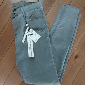 Versace v19-69 Abbigliamento gray stretch jeans